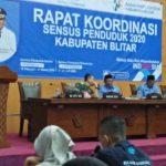Rapat Koordinasi Sensus Penduduk 2020 Kabupaten Blitar